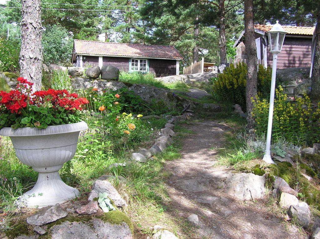 Zugang zum Ferienhaus