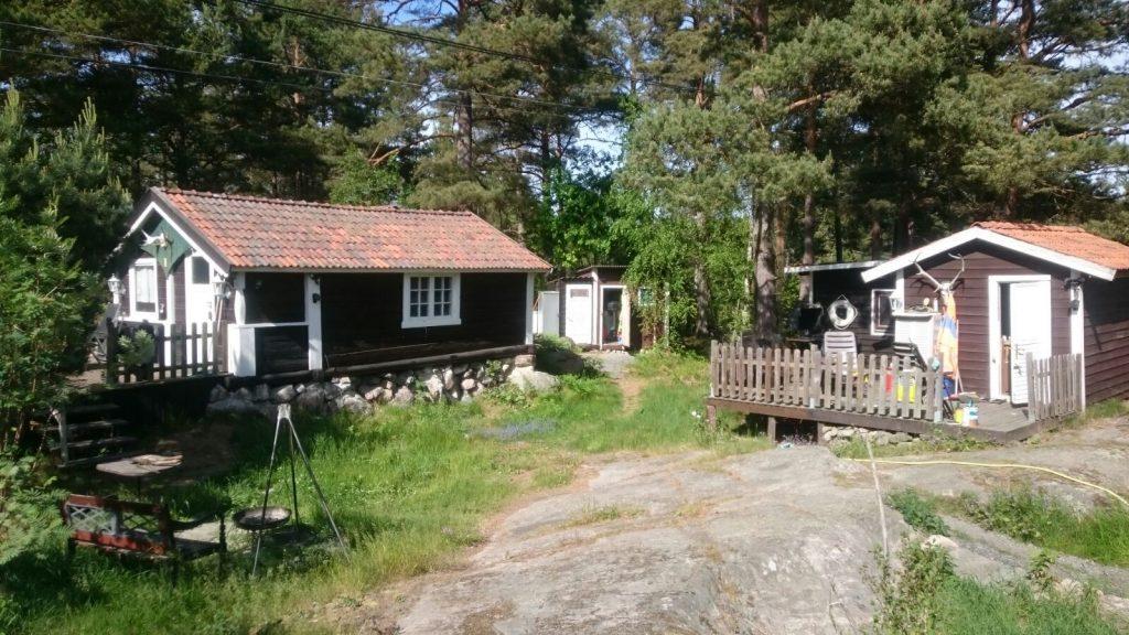 Ferienhaus in Schweden - Außenansicht
