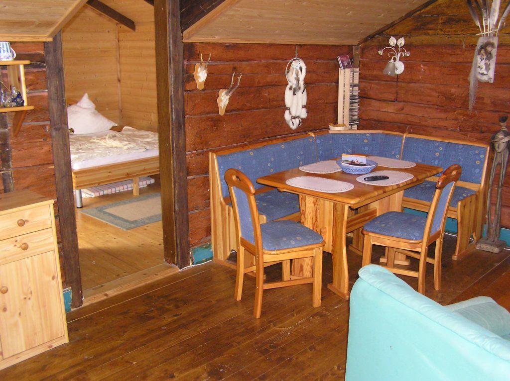 Ferienhaus in Schweden. Essecke