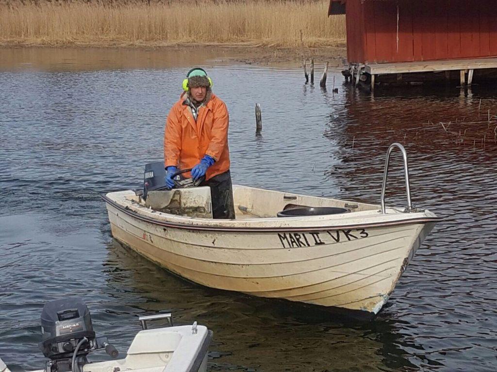 Fischer in Schweden Loftahammar